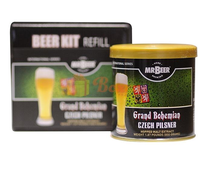 Солодовый экстракт «Mr. Beer Grand Bohemian Czech Pilsner»