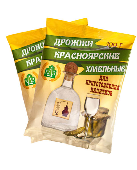 Дрожжи хмельные Красноярские