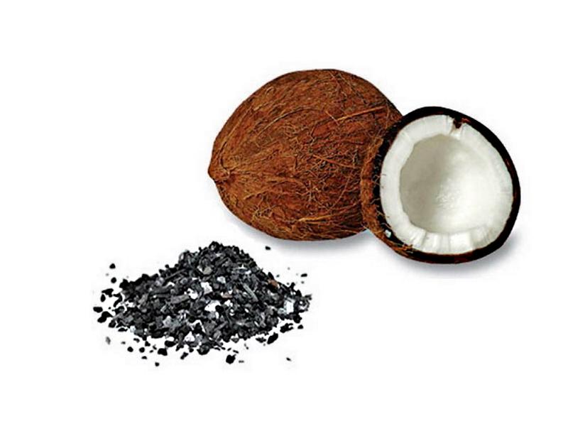 Кокосовый уголь активированный, 1 кг