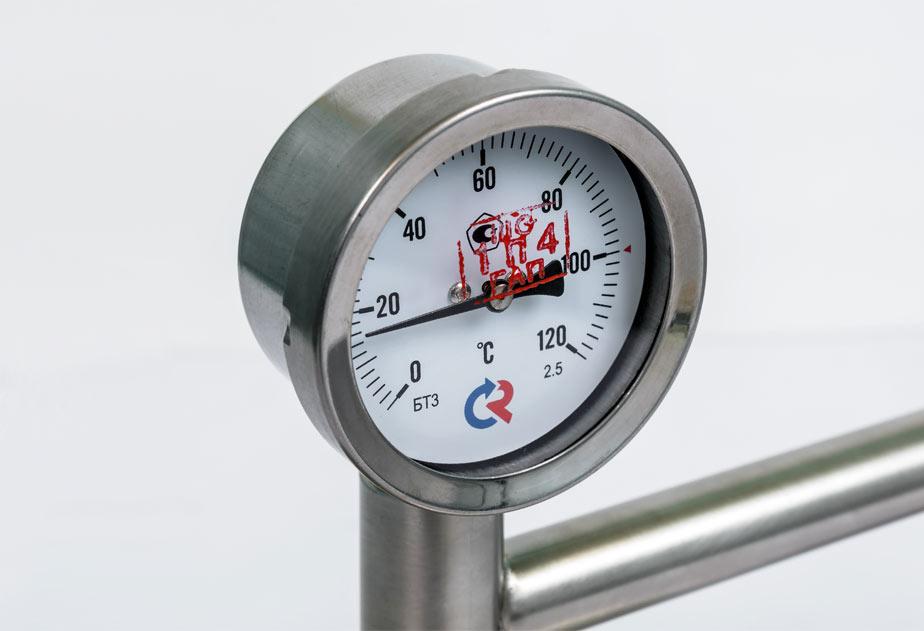 Вертикальный термометр Беларусь Люкс