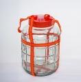 Стеклянная емкость с гидрозатвором, 20 л
