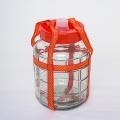 Стеклянная емкость с гидрозатвором, 10 л
