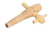Кран деревянный