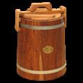 Кадка дубовая для засолки,  5 л