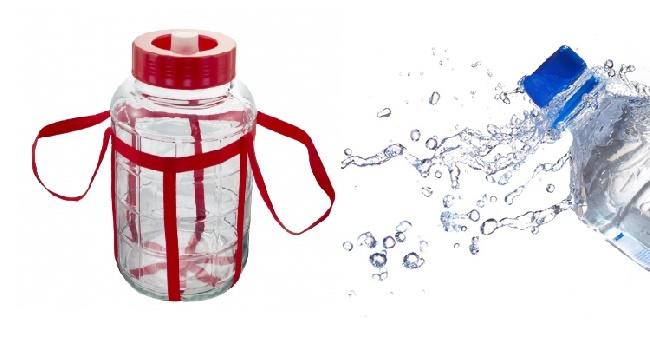 Выбор воды и емкости для брожения