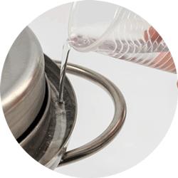 Гидрозатвор на коптильне Fansel на 20 литров