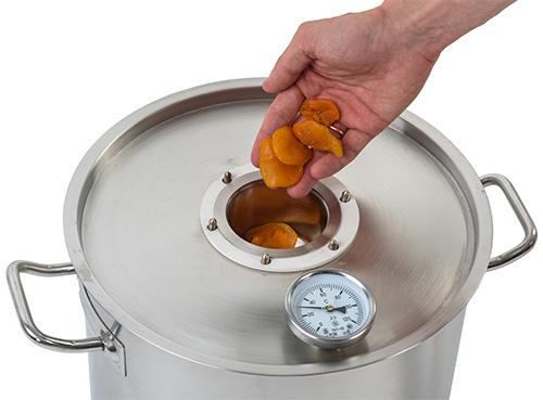 наполнение ароматизатора ингредиентами
