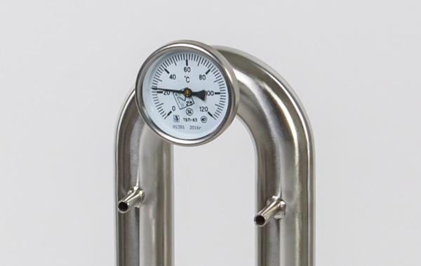 Термометр на колонне самогонного аппарата Wein, 12 литровый