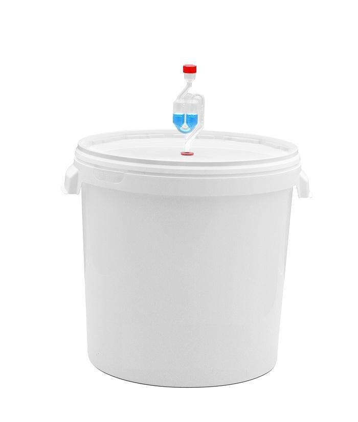 Гидрозатвор с ёмкостью для брожения